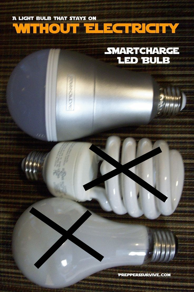 1000 images about lightbulb things on pinterest lightbulbs bulbs - Light Stays On When Power Goes Off Smart Charge Light Review