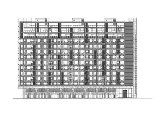 Edificio de Viviendas en Taipei / Chin Architects,Elevación 02