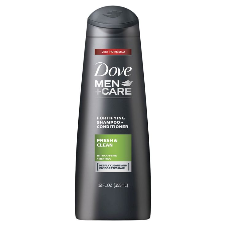 Dove Men+Care Fresh and Clean 2 in 1 Shampoo and Conditioner - 12 fl oz