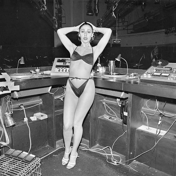 """paultoes: """"The DJ Booth at 4AM"""" Studio 54, NY,... -"""