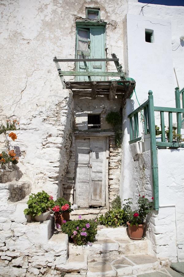 Old Door in Folegandros, Greece