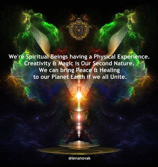 We can bring Peace and Healing to our Planet Earth if we all Unite.