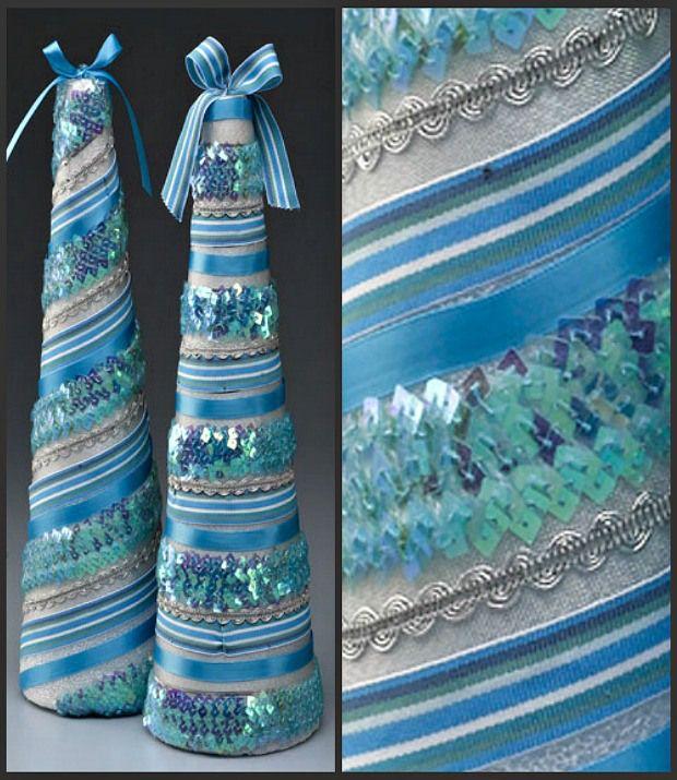 25+ Unique Ribbon Topiary Ideas On Pinterest