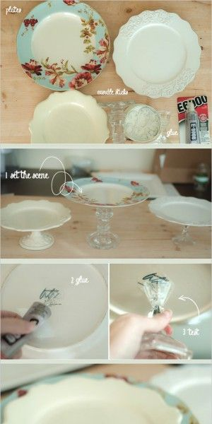 DIY taartstandaard maken