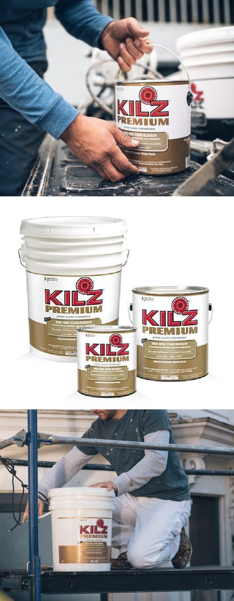 Looking for an easy way to protect the surfaces in your home against mildew while also blocking stains and hiding old paint colors? Check out KILZ Premium Primer. This superior sealer and stainblocker can be used on glossy surfaces, drywall, paneling, stucco, masonry, plaster and wood so you and your family can get the most out of your home.