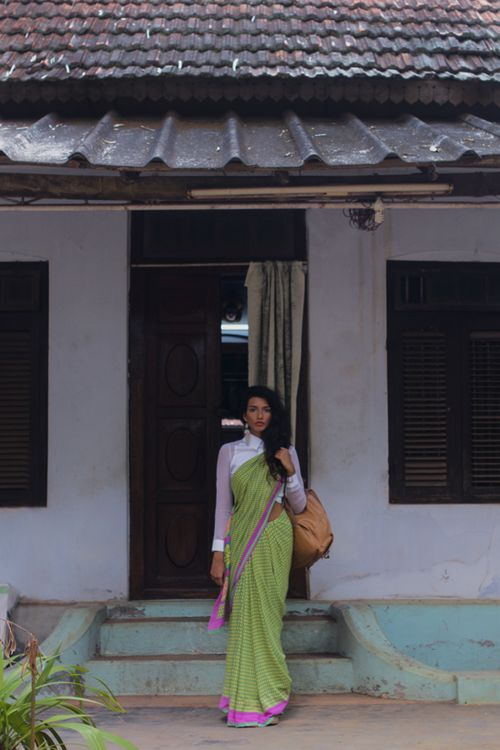 Uma Damle #Rhea Gupte. Indian South Asian desi fashion.