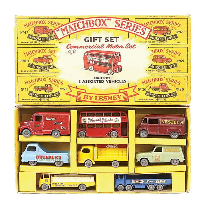 lesney matchbox giftset G1