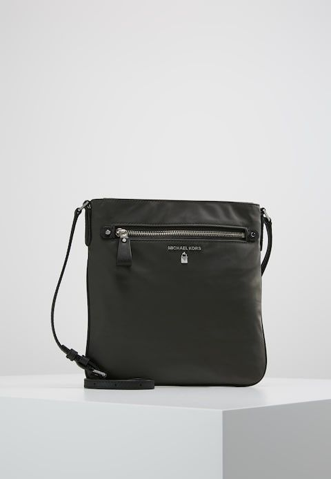 a55d893325a7f MICHAEL Michael Kors KELSEY - Across body bag - graphite - Zalando.co.uk