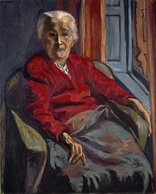 "Alice Neel's painting of her mom from ""Paintings Of Mom by 33 Famous Artists For Mothers Day."" #aliceneel"