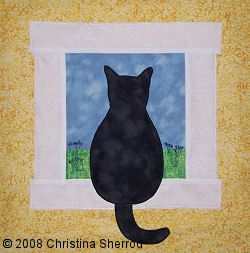 Free+Cat+Quilt+Block+Patterns | our store home free sewing patterns applique patterns cat applique
