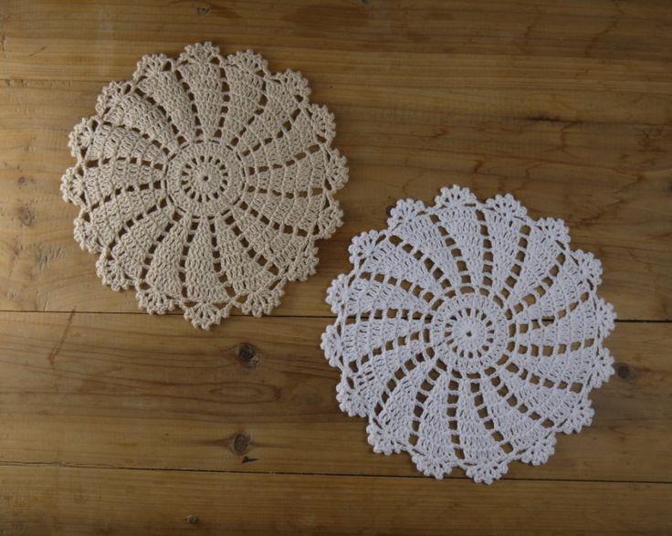 Barato Crochet Doilies Placemats chique gasto Nostalgic Retro setor olha 20 x 20 cm     imagem física 100%, Compro Qualidade Tapetes e pads diretamente de fornecedores da China:                                        &nb
