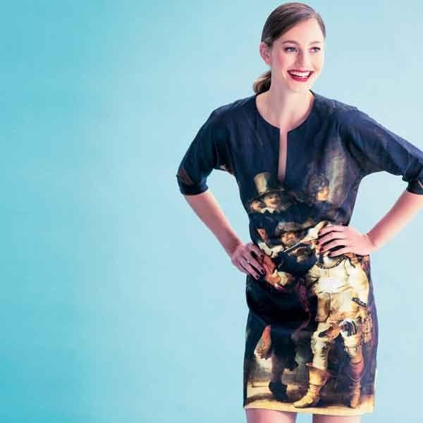 Patroon jurk (PDF-patroon) | Dames| Knipmode naaipatronen | Knipmode