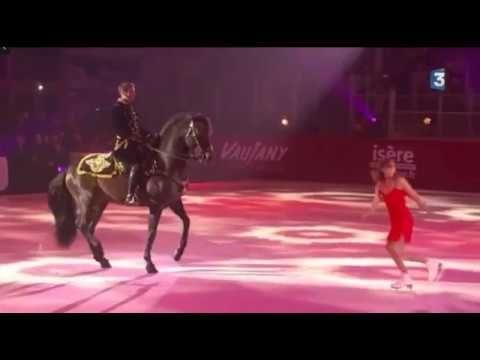 Line BONNET et Yann VAILLE   Patineuse à cheval   Ma plus belle histoir...