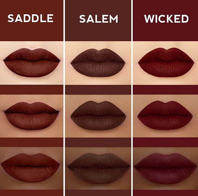Lime Crime / Skin Tone / Saddle - Salem - Wicked