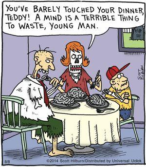 The Argyle Sweater Comic Strip, August 08, 2014 on GoComics.com