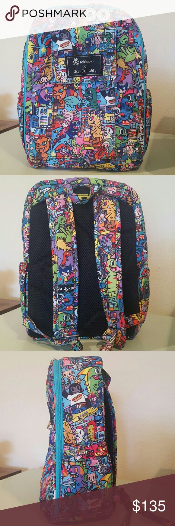 JuJuBe Kaiju City Minibe Ju ju be KJC minibe backpack. Like new, was only used once or twice. JuJuBe  Bags Baby Bags