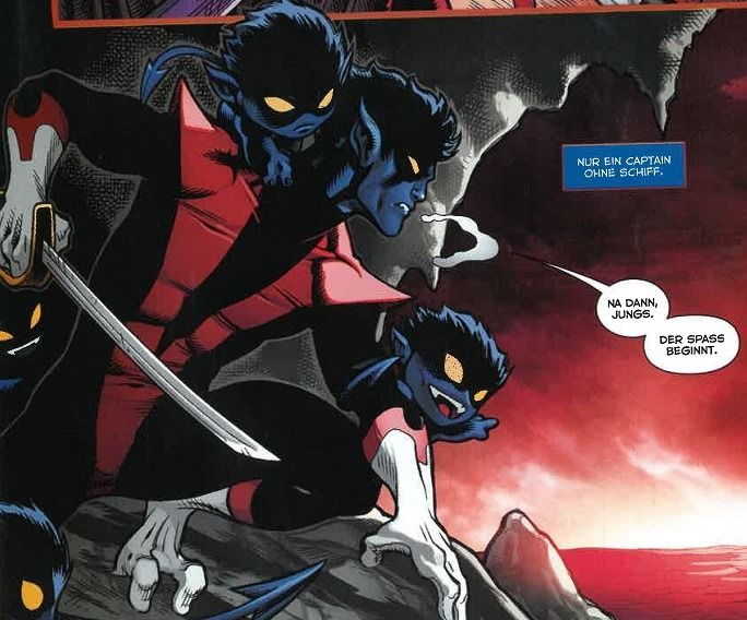 Pin By Blueberry Bamf On Bamfs Nightcrawler Marvel Universe Art Superhero Comic