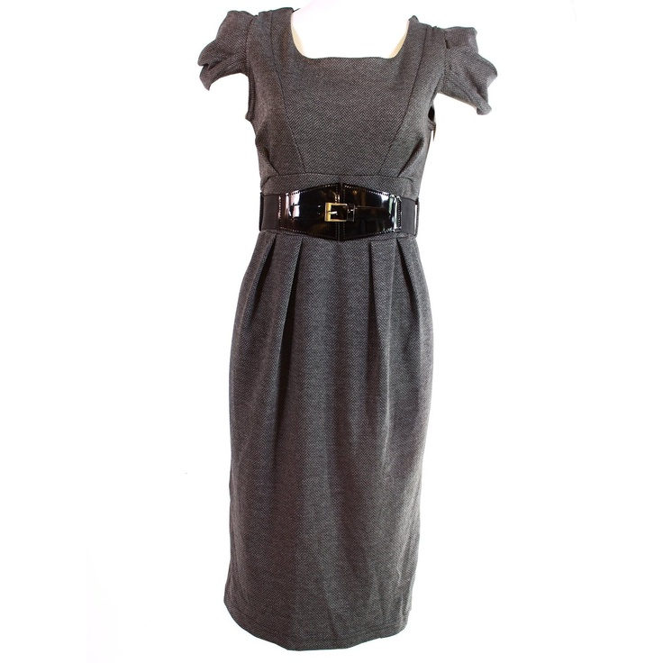 Monkeying About Ladies Posh Smart Dress Belted Fitted Dresses £29.95