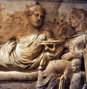 Hekatomnos'a ait olan rölyefli lahit- Zeus Karios Tapınağı -Muğla