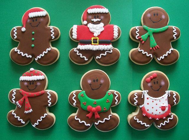 Gingerbread Men by Brendau0027s Cakes - Ohio via Flickr & 57 best Gingerbread man cookies images on Pinterest | Cookies ...