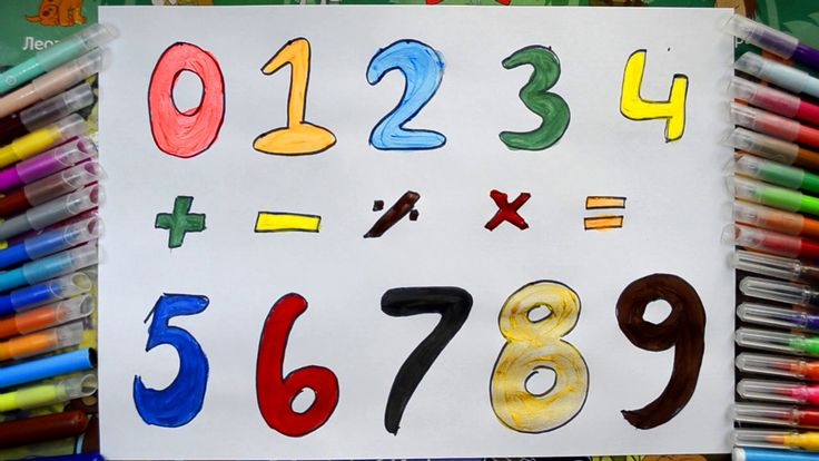 Coloring Numbers | Learn Numbers for Kids by | Drawing Art for Kids | ho...