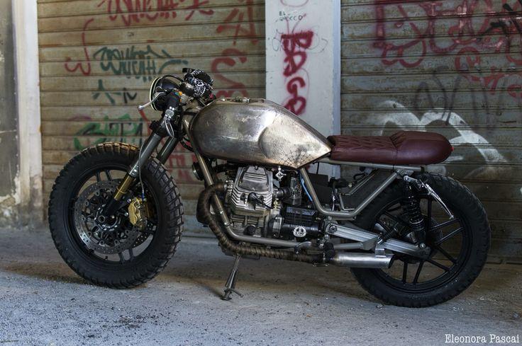 Guzzi V35 Entrophy motorbike #custom #cafèracer #motos #entrophymotorbike