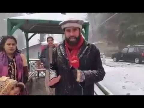cool Weather Videos - Murree Pakistan, Today  Live Snowball Amazing Weather Report 4, Jan2017 #Weather and  #News