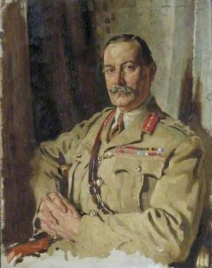 Lieutenant General Sir Travers Clarke, KCMG, CB, Quartermaster General, France, December 1917