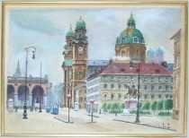 Oedensplatz (Feldherrnhalle) 1914