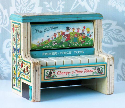 Fisher-Price Change-a-Tune Piano