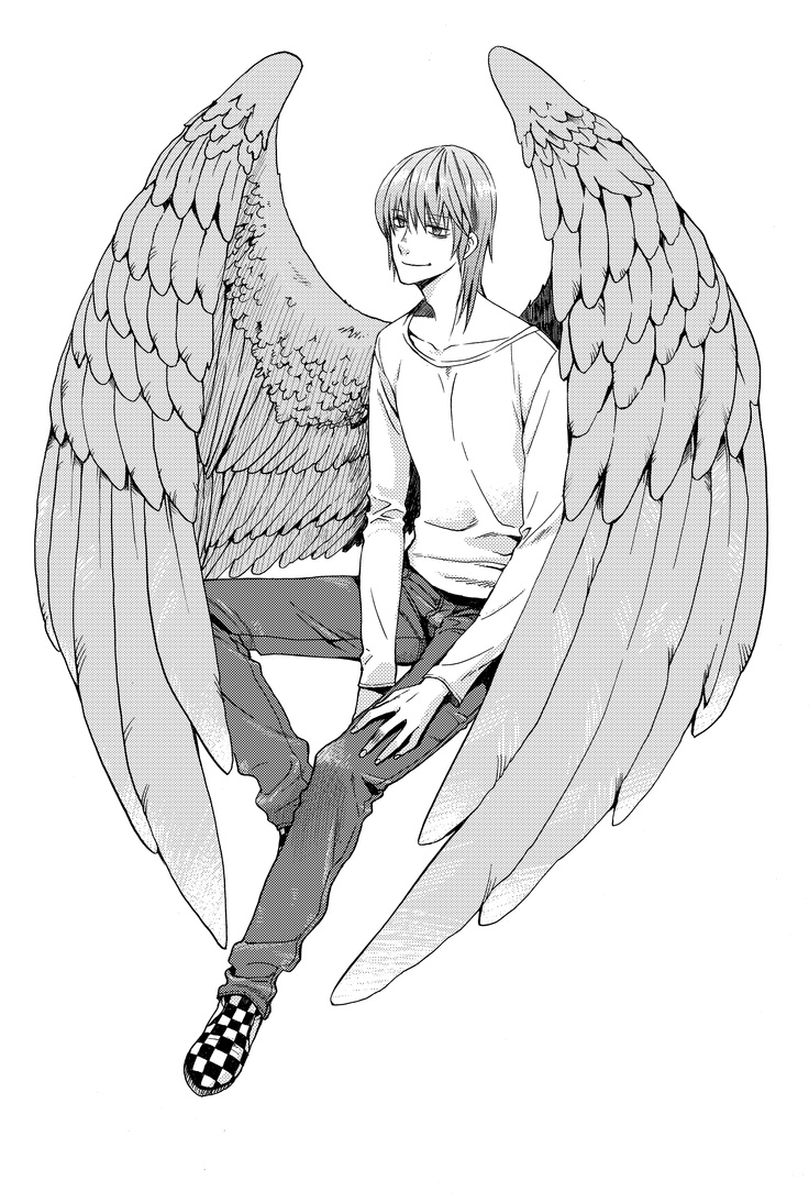 Character design for Iggy, of the Maximum Ride manga series.