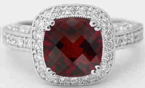 WANT!!! http://www.myjewelrysource.com/garnet-rings/gr8041-cushion-cut-garnet-ring.htm