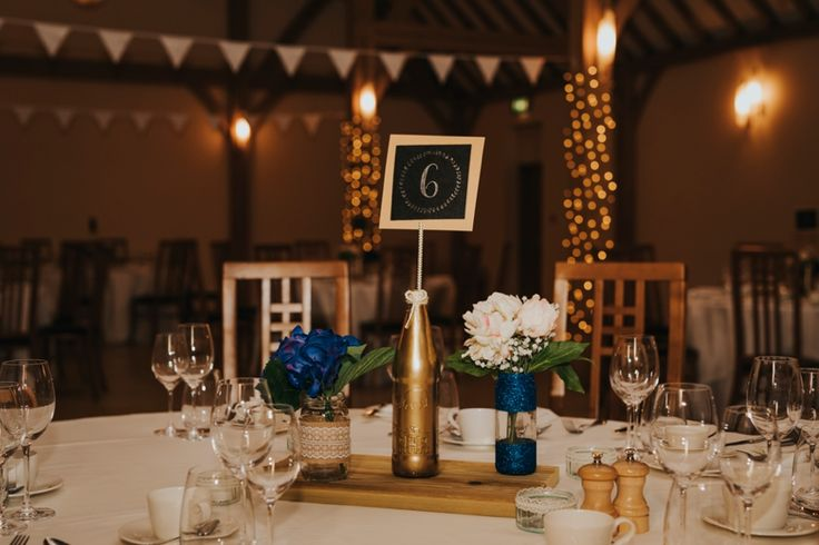 Pops of a bright colour help make your table decor stand out. Photo by Benjamin Stuart Photography #weddingphotography #tabledecor #receptiondecor #weddingbreakfast #rivervalebarn