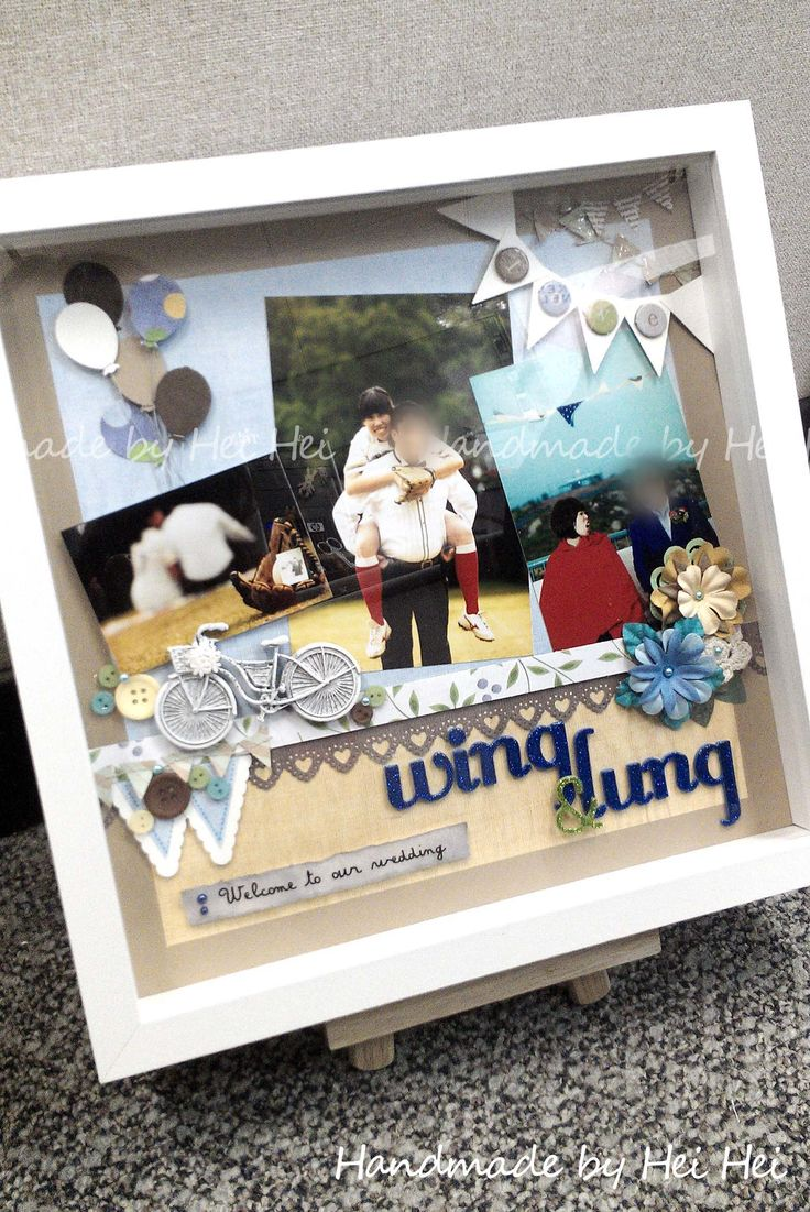 Wedding party welcome board