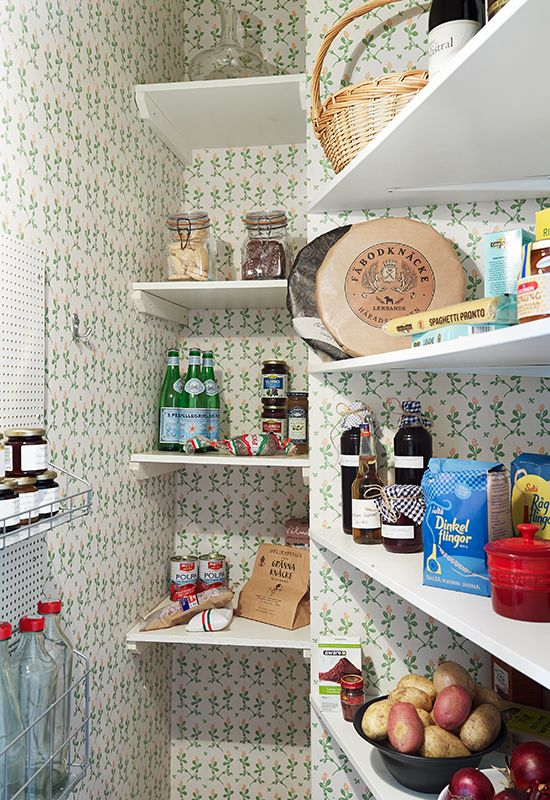 Pantry. Wish mine was this cute.