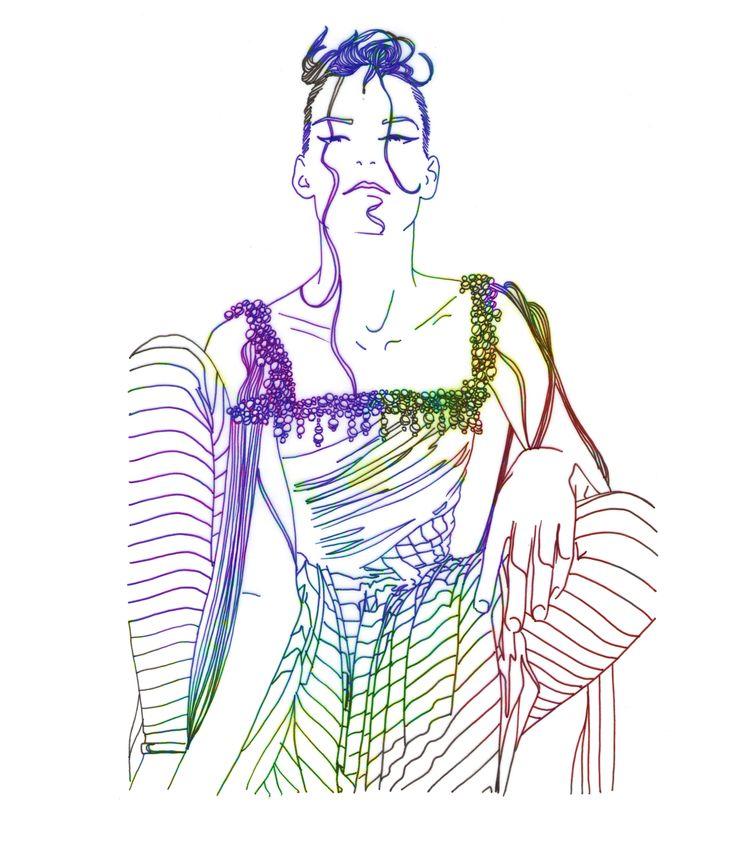 Stripes, por Raquel Botelho t-shirt http://www.vandal.com.br/products/4384-stripes