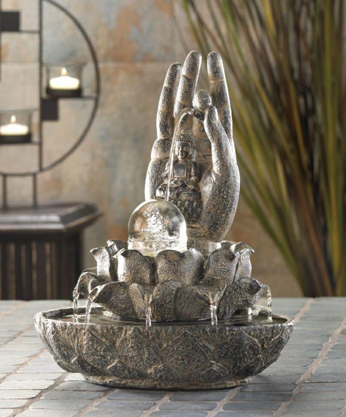 Les 25 meilleures id es de la cat gorie fontaine bouddha - Fontaine zen d interieur nature et decouverte ...