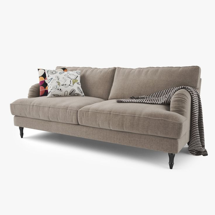 Ikea Stocksund Grey Compact Two Seater Sofas Width 154 Cm Depth 95 Height 89 And Armchairs 92