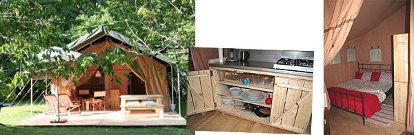 Tentensuite Kamperen in stijl, Herkenbaar? Kids willen het allerliefst hun vakantie doorbrengen op de camping en gelijjk hebben ze natuurlijk; de hele dag in de buitenlucht en ronds...