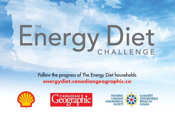 The Shell Canadian Geographic Energy Diet Challenge featured 6 families competing for the title of Canada's most energy efficient family... and great prizes, too.