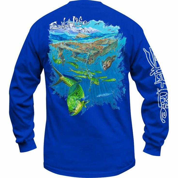 Salt life long sleeve everything life pinterest for Salt life long sleeve fishing shirts
