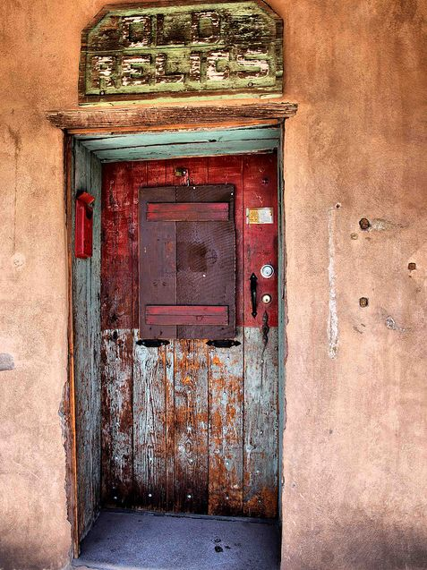 Santa Fe, New Mexico. By Saxonfenken: Mexico Rh, Fe Doors, Doors Santa Fe, Mexico Doors, Doors Knock, Doors Window Knobs, Old Doors, Wood Doors, New Mexico