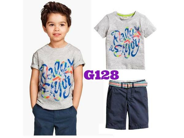 H&M Relax boyset (G128) || size 2-7 || IDR 112.000