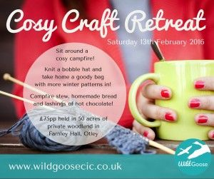 Cosy Craft Retreats | Wild Goose