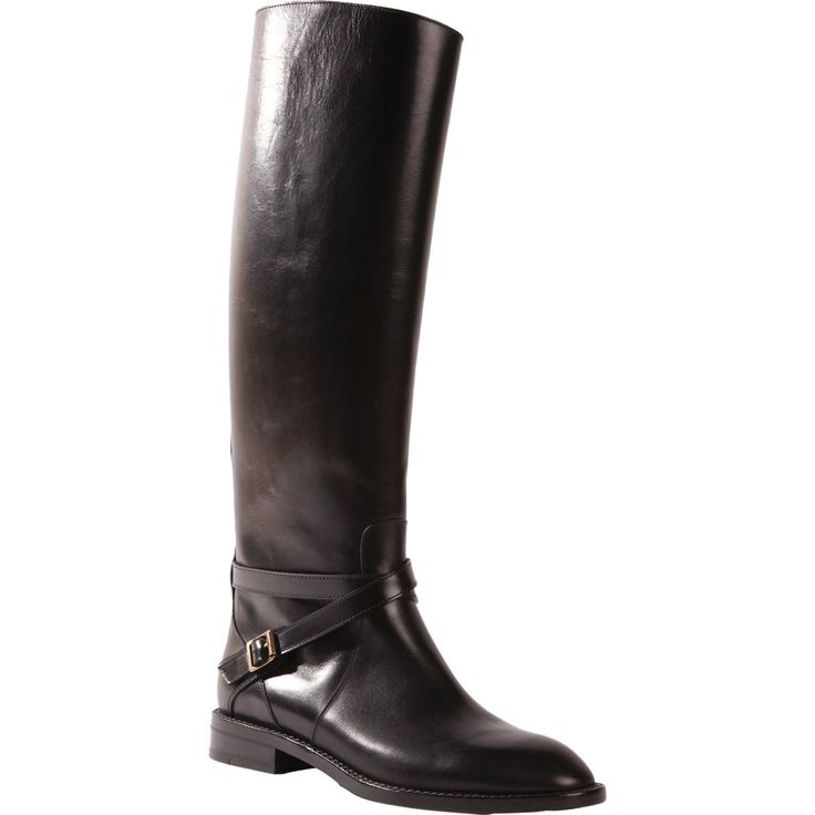 FALL 2013: SAINT LAURENT Cavaliere Knee Boot