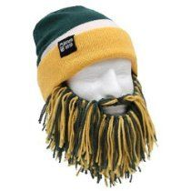 Beard Head Tailgate Barbarian Knit Hat with Beard