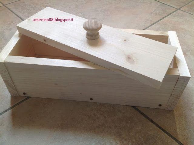 Come realizzare uno stampo artigianale in legno per il sapone. ~ Saturnino88