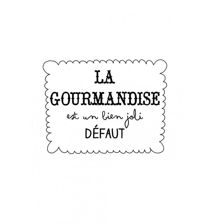 tee-shirt femme la gourmandise est un bien joli défaut- marcel et lily