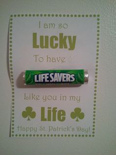Candy Grams idea for survivors/sponsors around st.Patty's