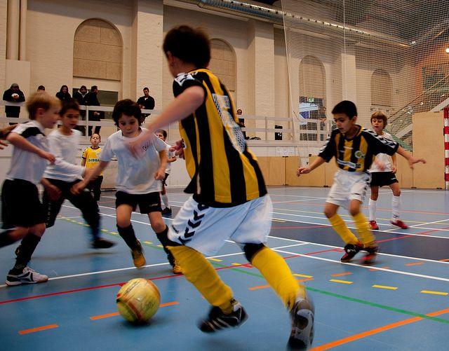 Indendørs fodbold by Mollenborg, via Flickr
